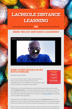 LaCreole Distance Learning