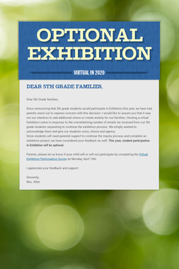Optional Exhibition