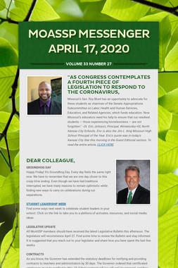 MoASSP Messenger April 17, 2020