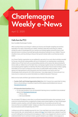 Charlemagne Weekly e-News
