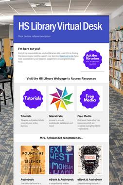HS Library Virtual Desk