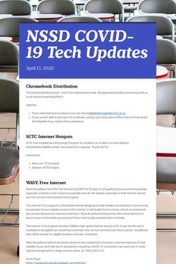 NSSD COVID-19 Tech Updates
