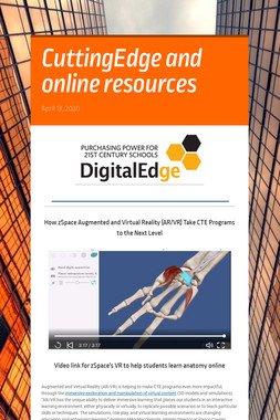 CuttingEdge and online resources