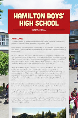 Hamilton Boys' High School
