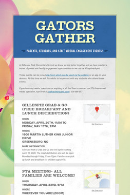 Gators Gather