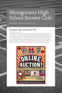 Montgomery High School Booster Club