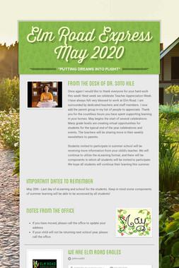 Elm Road Express        May 2020