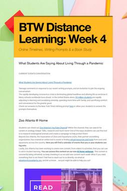 BTW Distance Learning: Week 4
