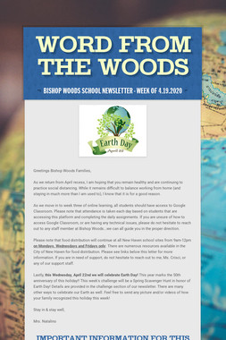 Word From The Woods