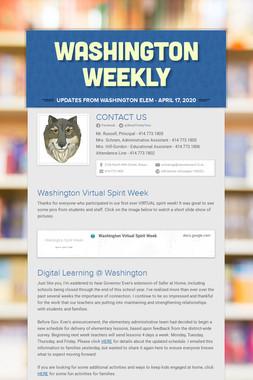 Washington Weekly