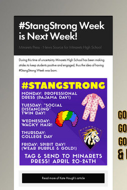 #StangStrong Week is Next Week!