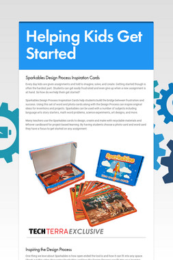 Helping Kids Get Started