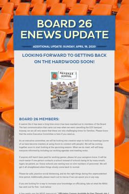 Board 26 eNews Update