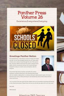 Panther Press Volume 26