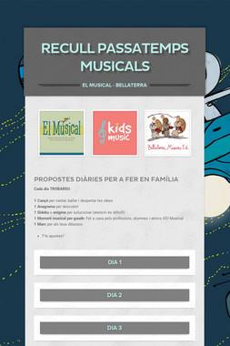 RECULL Passatemps musicals