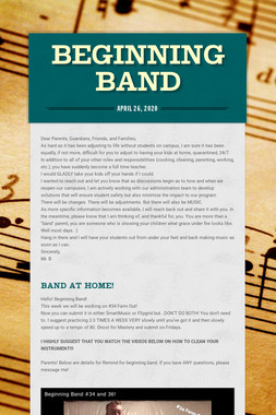 Beginning Band