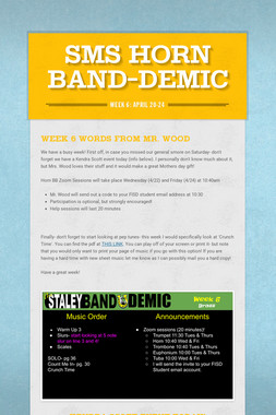 SMS Horn Band-Demic