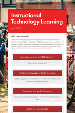 Instructional Technology Learning