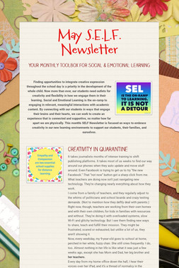 May S.E.L.F. Newsletter