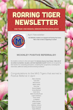 Roaring Tiger Newsletter