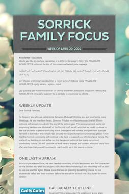 Sorrick Family Focus