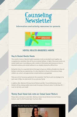 Counseling Newsletter