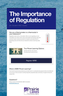 The Importance of Regulation