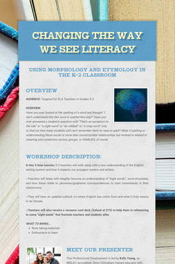 Changing the Way We See Literacy