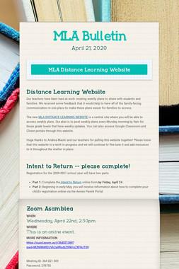 MLA Bulletin