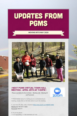Updates from PGMS