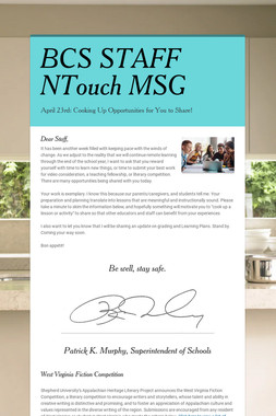 BCS STAFF NTouch MSG
