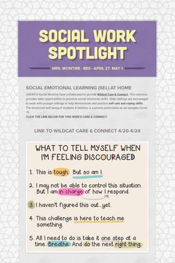 Social Work Spotlight