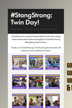 #StangStrong: Twin Day!