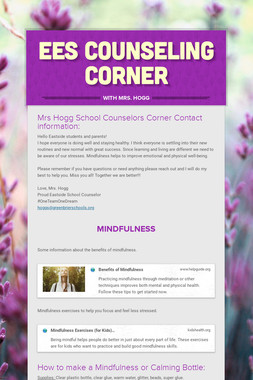 EES Counseling Corner