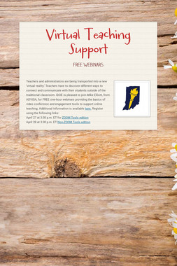 Virtual Teaching Support