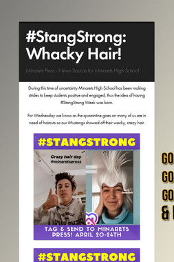 #StangStrong: Whacky Hair!