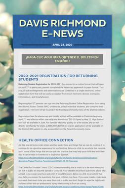 Davis Richmond E-News