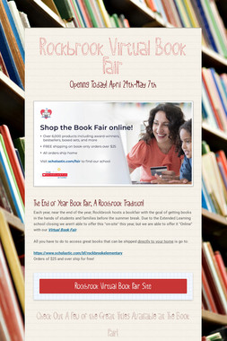 Rockbrook Virtual Book Fair