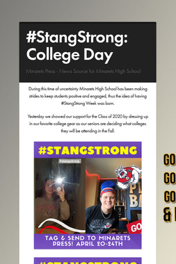 #StangStrong: College Day