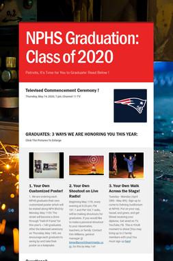 NPHS Graduation: Class of 2020