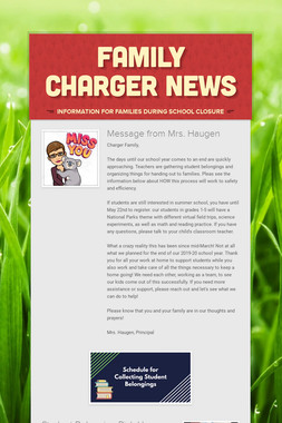 Family Charger News
