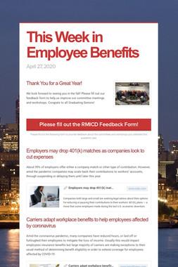 This Week in Employee Benefits