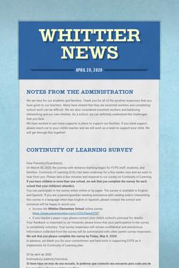 Whittier News