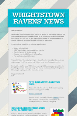Wrightstown Ravens' News