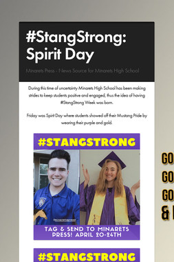 #StangStrong: Spirit Day
