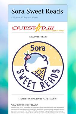 Sora Sweet Reads