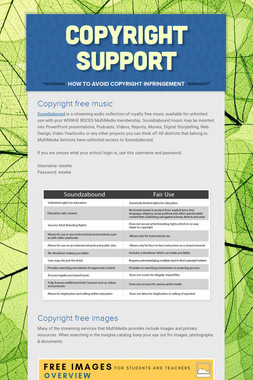 Copyright Support