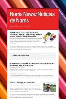 Norris News/Noticias de Norris