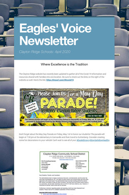 Eagles' Voice Newsletter