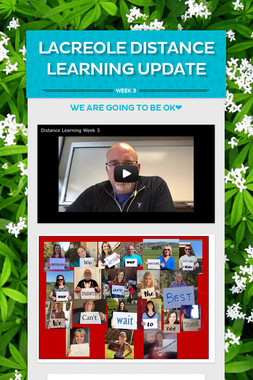 LaCreole Distance Learning Update